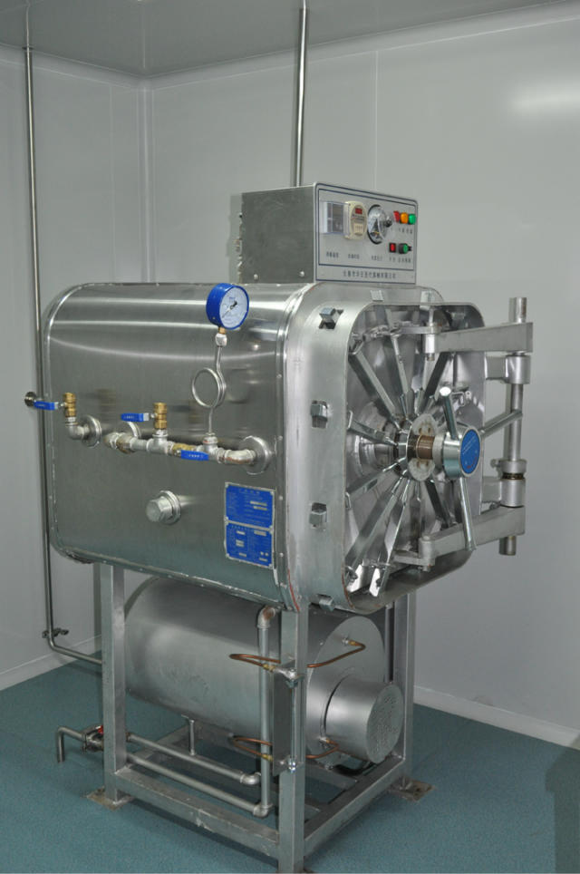 Pressure steam sterilization cabinet